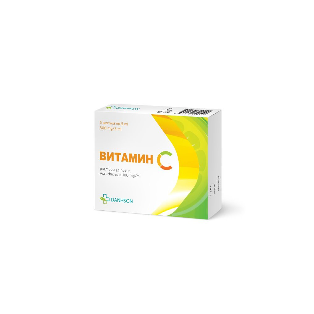 Vitamin C solution for drinking 500 mg/5 ml x 5